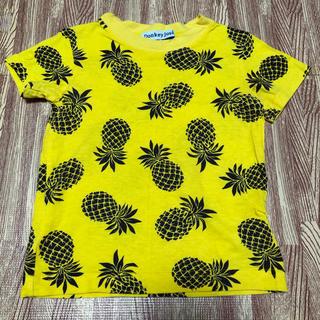 ドンキージョシー(Donkey Jossy)の半袖 Tシャツ 100 パイナップル柄(Tシャツ/カットソー)