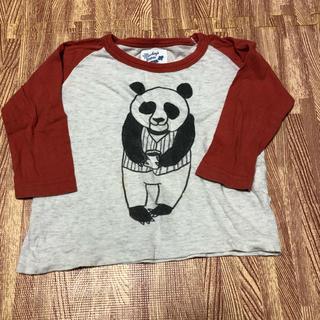 マーキーズ(MARKEY'S)のマーキーズ 七分袖 Tシャツ パンダ 80(Tシャツ)