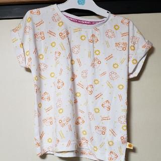 しまむら - ひまわりチャンネル総柄Tシャツ