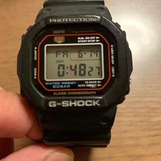 アベイシングエイプ(A BATHING APE)のBAPE 初代G-SHOCK DW-5000 黒 中古 1000個限定品(腕時計(デジタル))
