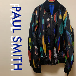 ポールスミス(Paul Smith)のPaul Smith  総柄 ブルゾン ポールスミス フェザー柄(ブルゾン)