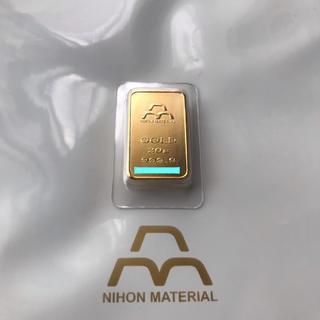 日本マテリアル 20g 24金 インゴット