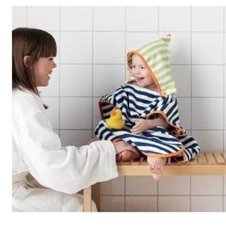 イケア(IKEA)の【複数購入で大幅値下げ⭐️】IKEA フード付バスタオル(タオル/バス用品)