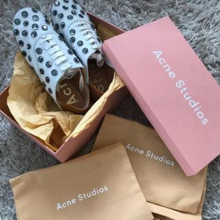 トゥモローランド(TOMORROWLAND)の新品未使用 ACNE Studiosのシューズ(ローファー/革靴)