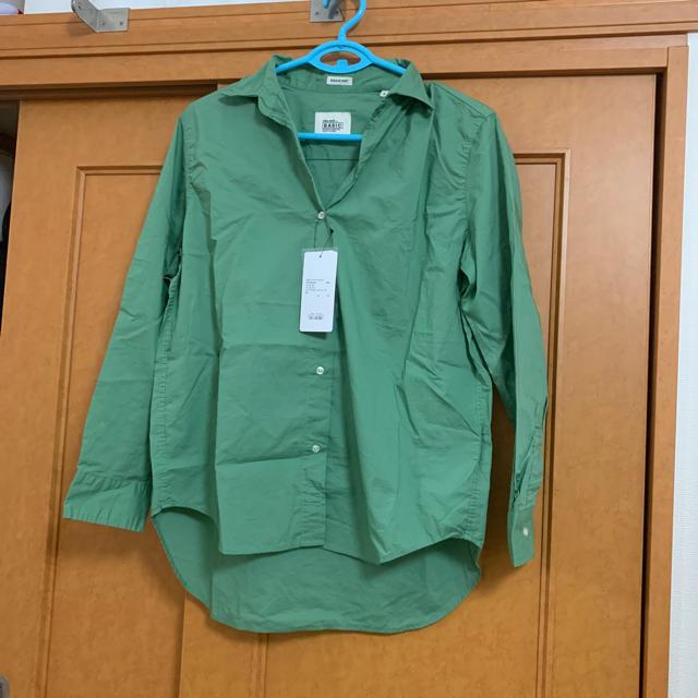 niko and...(ニコアンド)のシャツ ライトグリーン レディースのトップス(シャツ/ブラウス(長袖/七分))の商品写真