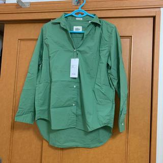 ニコアンド(niko and...)のシャツ ライトグリーン(シャツ/ブラウス(長袖/七分))