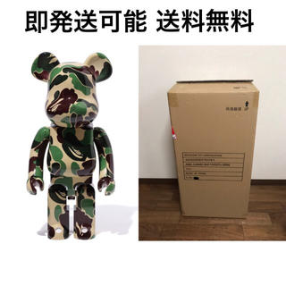 MEDICOM TOY - 新品 BE@RBRICK ABC CAMO 1000% ベアブリック GREEN