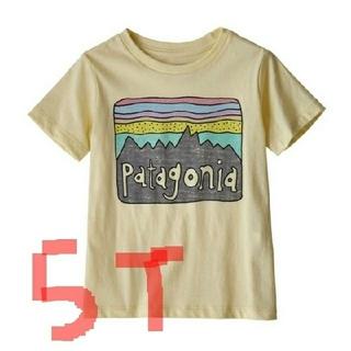 パタゴニア(patagonia)の★新品タグ付き★patagoniaキッズTシャツ/5T /ResinYellow(Tシャツ/カットソー)