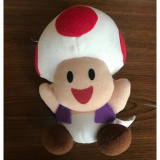 バンプレスト(BANPRESTO)のキノピオ ぬいぐるみ バンプレ スーパーマリオコレクション(ぬいぐるみ)