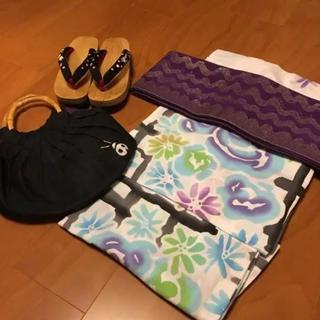 ツモリチサト(TSUMORI CHISATO)の♡全てツモリチサト♡浴衣、帯、下駄、巾着セット(浴衣)