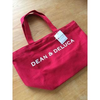ディーンアンドデルーカ(DEAN & DELUCA)のDEAN&DELUCA ディーン&デルーカ トートバッグ Sサイズ レッド(トートバッグ)
