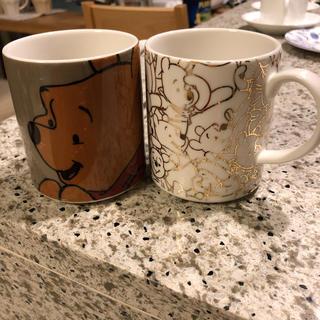 フランフラン(Francfranc)のくまのプーさんマグカップ2個(マグカップ)