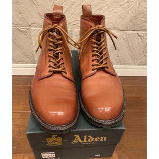 Alden - オールデン ALDEN プレーン ブーツ 9.5 D 1回のみ着用