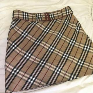 バーバリー(BURBERRY)のBURBERRY vintage skirt(ミニスカート)