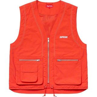 シュプリーム(Supreme)の【L】Nylon Cargo Vest(ベスト)
