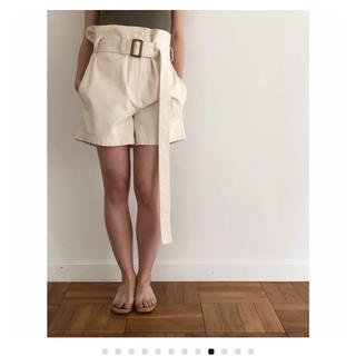 TODAYFUL - 新品♡belt half pants 38♡écru