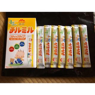 モリナガニュウギョウ(森永乳業)の粉ミルクチルチル7本(その他)