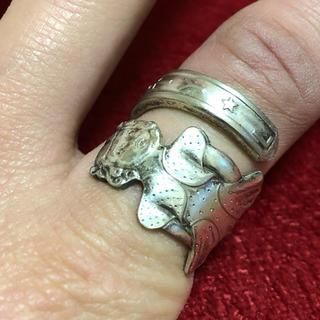 アンティーク リング スプーンリング 16号 調可 ベティ・ルー 女の子 248(リング(指輪))