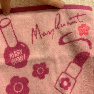 マリークワント(MARY QUANT)のリップグラフィティ  ミニタオル(ピンク)(ハンカチ)