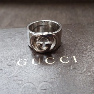 Gucci - GUCCI インター ロッキング リング 15号表記