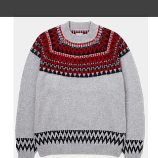 DELUXE - はじこい!横浜流星 着用!定価2万5千円!ノルディックセーター