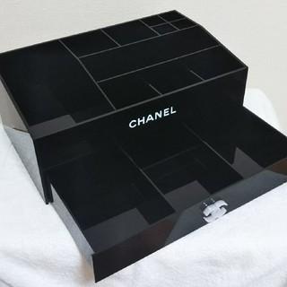 シャネル(CHANEL)のCHANEL引き出し付きコスメケース、小物入れ(非売品)(ケース/ボックス)