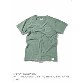 Tシャツ Vネック オーバーサイズ ワンポイント (Tシャツ(半袖/袖なし))