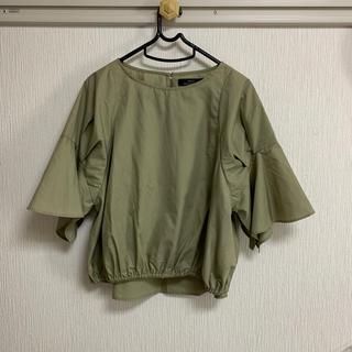 アーバンリサーチ(URBAN RESEARCH)のアーバンリサーチ フリルシャツ(Tシャツ(半袖/袖なし))
