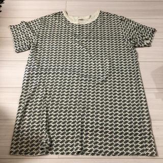 バイアス(BIAS)のBIAS 総柄 Tシャツ 柄 ロゴ needles LADMUSICIAN(Tシャツ/カットソー(半袖/袖なし))