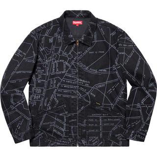 シュプリーム(Supreme)のsupreme Gonz Map Work Jacket シュプリーム  S(Gジャン/デニムジャケット)