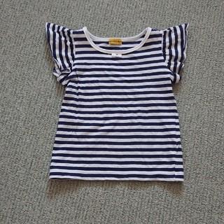 シマムラ(しまむら)のボーダーカットソー 90(Tシャツ/カットソー)