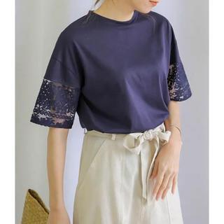 セレクト(SELECT)のselect moca レースTシャツ(シャツ/ブラウス(半袖/袖なし))