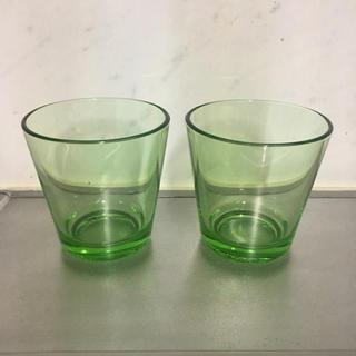 イッタラ(iittala)のiittala グラス グリーン(グラス/カップ)