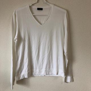 ジョゼフ(JOSEPH)のJOSEPH HOMME 白ロンT 46(Tシャツ/カットソー(七分/長袖))