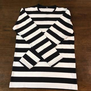 ユニクロ(UNIQLO)のボーダーカットソー(Tシャツ/カットソー(七分/長袖))