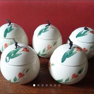 新品 茶碗蒸し(小鉢) 5セット(食器)