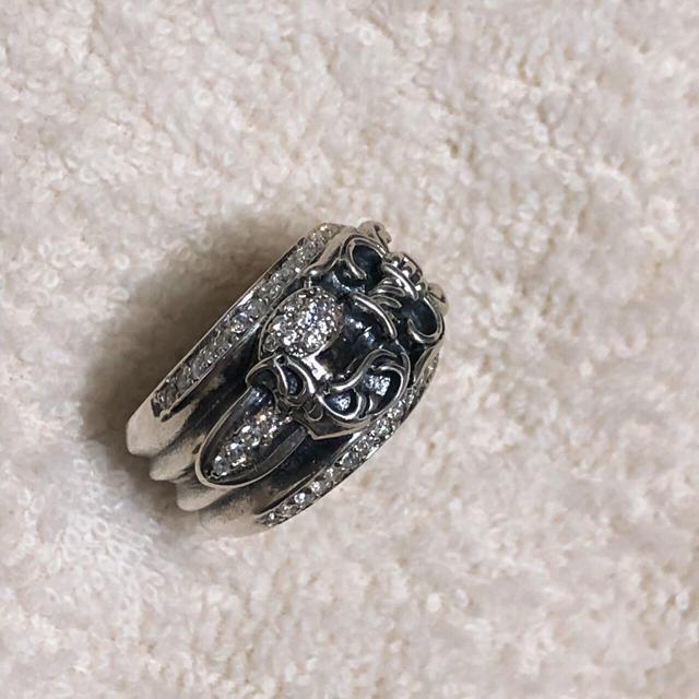 Chrome Hearts(クロムハーツ)のクロムハーツ ハートダガーリング  #22号 メンズのアクセサリー(リング(指輪))の商品写真