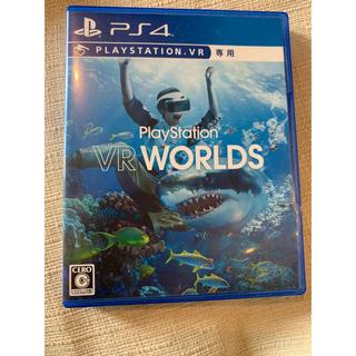 プレイステーションヴィーアール(PlayStation VR)のvr worlds psvrソフト(家庭用ゲームソフト)
