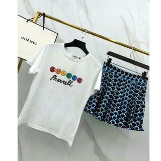 シャネル(CHANEL)のシャネル Tシャツ ミニスカート 正規品 S 早い者勝ち(ミニスカート)