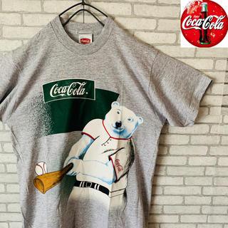 コカコーラ(コカ・コーラ)のCoca-Cola コカコーラ 半袖 Tシャツ アメリカ 野球 MLB 人気(Tシャツ/カットソー(半袖/袖なし))