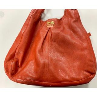 コーチ(COACH)のCOACH 大きめトートバッグ 赤レンガ色 ★送料無料(トートバッグ)