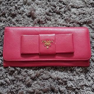 プラダ(PRADA)のプラダ♡リボン財布(財布)