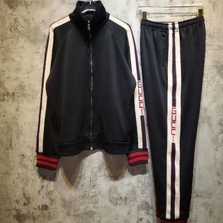 グッチ(Gucci)のGUCCI テクニカルジャージ ジョギングパンツ ジャケット サイズS(その他)