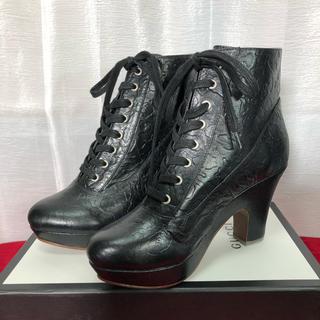 アベイシングエイプ(A BATHING APE)の未使用 APE エイプ カモフラ柄 ヒール 靴 正規品(ハイヒール/パンプス)