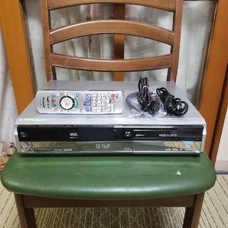 パナソニック(Panasonic)の希少W録!完動超美品パナソニックVHS/HDD/DVDレコーダDMR-XW40V(DVDレコーダー)