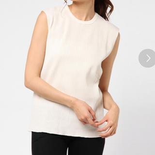 ナノユニバース(nano・universe)のQUINOA BOUTIQUE ランダムワッフル フレンチスリーブ(Tシャツ(半袖/袖なし))