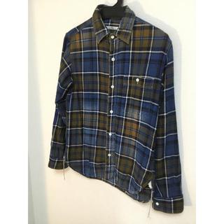 ジャーナルスタンダード(JOURNAL STANDARD)の(ジャーナルスタンダード)  ネイビーチェックシャツ (シャツ)