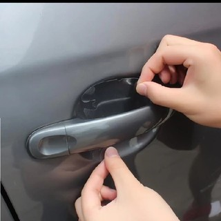 ハンドル保護フィルム車外装透明ステッカー