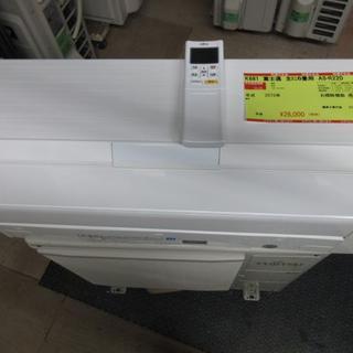 フジツウ(富士通)のK681 富士通 中古エアコン 主に6畳用 冷2.2kw/暖2.5kw(エアコン)