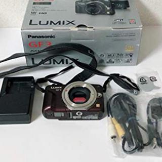 Panasonic - Panasonic ミラーレス一眼カメラ  ブラウン